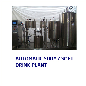 AUTOMATIC SODA/SOFT DRINK PLANT